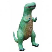 Opblaas T-Rex dino groen 94 cm