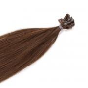 Rapunzel® Extensions Naturali Nail Hair Original Liscio 5.0 Brown 70 cm