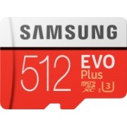 Samsung Evo Plus 512 GB MicroSDXC Class 10 100 Mbps Memory Card(With Adapter)