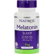 vitanatural melatonine tr 5mg - slaap hormoon - 100 tabletten