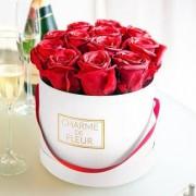 """Charme de Fleur"" Rosen-Geschenkbox"