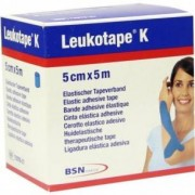 Bsn Medical Leukotape K - cerotto elastico per taping neuromuscolare Blu 5 m X 5 cm