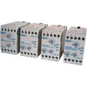 Védőrelé, feszcsök/fesznöv. 3 fázisra, állítható, fázissor. - Umin=270-370V / Umax=390-490V, 5-15min, 0-15min, 5A/250V TFKV-14 - Tracon
