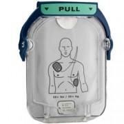 coppia piastre elettrodi monopaziente per defibrillatore philips heart