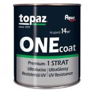 Vopsea Email AZUR Topaz S5046 ONE Coat Alb 0.75 Litri