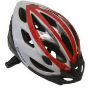 Каска за велосипед Force, M, MASTER, MAS-B202-M-red-w