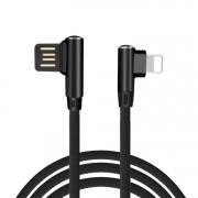 Apple kabel mobil nabíjací pre všetky modely iphone s 90° dizajnom konektora a dĺžkou 1 meter