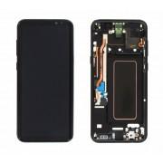 Ecran Display cu rama Samsung Galaxy S8 Plus G955f Negru