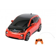 Toyhouse Officially Licensed Radio Remote Control Rastar BMW I3 RC 1:24 Scale Car, Orange