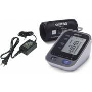 Tensiometru Electronic de Brat Omron M7 Intelli IT Bluetooth 0-299mmHg 40-180 bp Alb + ADAPTOR PRIZA Omron M7IT + Adaptor