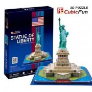 Puzzle 3D CubicFun CBFE Statuia Libertatii