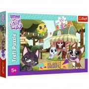 Puzzle clasic pentru copii - Little Pet Shop 100 piese La joaca in parc