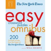 The New York Times Easy Crossword Puzzle Omnibus, Volume 11: 200 Solvable Puzzles from the Pages of the New York Times, Paperback