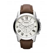 メンズ FOSSIL GRANT 腕時計 アイボリー