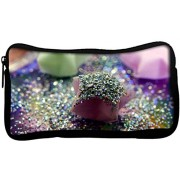 Snoogg Korean Star Poly Canvas Student Pen Pencil Case Coin Purse Utility Pouch Cosmetic Makeup Bag