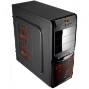 Aerocool Caja Semitorre V3X AdvanBlack Orange 30