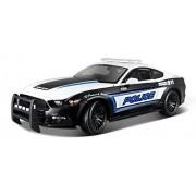 Maisto - 36203 - Véhicule Miniature - Modèle À L'échelle - Ford Mustang - Gt Police Usa - 2015 - Echelle 1/18