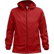 FjallRaven Abisko Windbreaker Jacket W - Red - Vestes Vent M