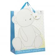 Mothercare - Punga cadou Ursulet Baby Boy