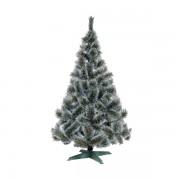 Novogodišnji bor sa belim vrhovima iglica 150 cm 20936