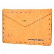 """""""SAMDI Retro Envelope Style Funda protectora para 15"""""""" MacBook Pro - Marron"""""""