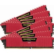 Kit Memorie Corsair Vengeance LPX Red 4x8GB DDR4 3733MHz CL17