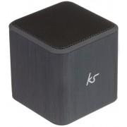 Boxa Portabila KitSound Cube Silver, Jack 3.5mm (Argintiu)