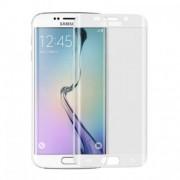 Извит стъклен протектор за Samsung Galaxy S7 Edge Бял
