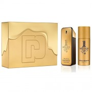 1 Million - Paco Rabanne gift set profumo 100 ml EDT SPRAY + deodorante spray 150 ml