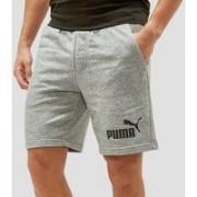 Puma No. 1 logo sweatshort grijs heren
