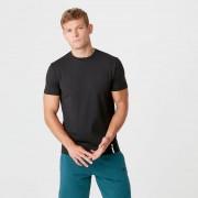 Myprotein Luxe tričko Classic s kruhovým výstřihem - XXL - Černá