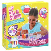 GirlZone Gifts for Girls: Make Your Own Lip Balm Kit with This 22 Piece Makeup Set for Girls. Birthday Present Gift for Girls Age 6 7 8 9 10 11+ Years Old.