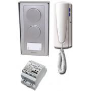 Golmar AS-1220SII Golmar 2 vezetékes egylakásos audió kaputelefon szett.