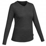 Forclaz T-shirt laine mérinos de trek voyage - TRAVEL 100 gris femme - Forclaz