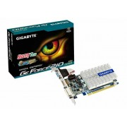 VGA Gigabyte GV-N210SL-1GI, nVidia GeForce 210, 1GB 64-bit DDR3, G/M: 520MHz/1200MHz, VGA, DVI-I, HDMI, Pasivno hlađenje, 24mj