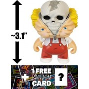 Bony Tony: ~3.1 Garbage Pail Kids x Funko Mystery Minis Mini-Figure Series #1 + 1 FREE GPK Trading Card/Sticker Bundle [55387]
