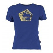 E9 Henry t-shirt Kinderen geel/blauw 116 2016 Casual shirts
