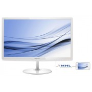 "Monitor Philips E-line 247E6EDAW 23.6"", IPS-ADS, FHD, HDMI, DVI, White"