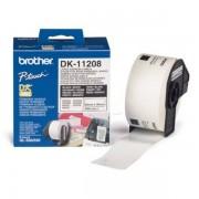 Brother Originale P-Touch QL 500 Etichette (DK-11208) 38mm x 90mm, Contenuto: 400 - sostituito Labels DK11208 per P-Touch QL500