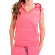 Retro Jeans Női rövid ujjú jogging felső MAJORCA 21H064-E14X580
