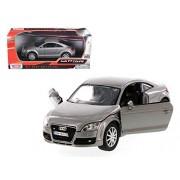 Motormax 73340Gry 2007 Audi Tt Coupe Grey 1-24 Diecast Car Model