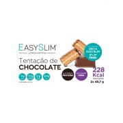 Easyslim Barra de Proteína Tentação de Chocolate 4 Unidades
