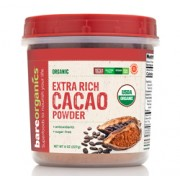 BareOrganics CACAO POWDER (Raw - Organic) (8oz) 227g