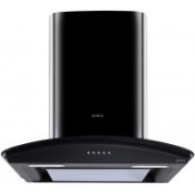 Elica Glace EDS HE LTW 60 BK NERO PB LED Wall Mounted Chimney(Black 1010 CMH)