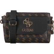 Guess Bruine Guess Schoudertas Esme Crossbody Top Zip
