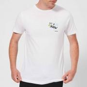 Smiley World Let It Snow Men's T-Shirt - White - XL - White