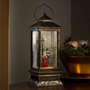 High decorative lantern Winter Scene