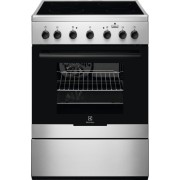 Aragaz Electrolux EKC61960OX, electric, 4 zone de gatit, 11 functii, grill, plus steam, 60x60 cm, inox