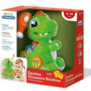 Baby clementoni dentino dinosauro birichino giocattolo parlante 17236