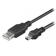 Cabo USB 2.0 / Mini-B Goobay - 3m